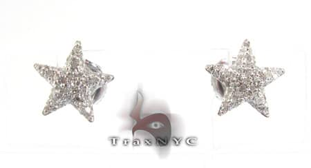 Star Studded Earrings Stone
