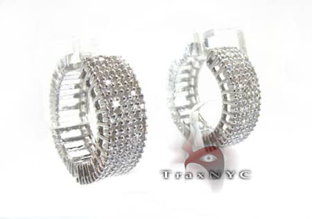 Ladies Toni Diamond Earrings Style