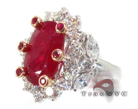 Custom Jewelry - Ruby Betwixt Ring Anniversary/Fashion