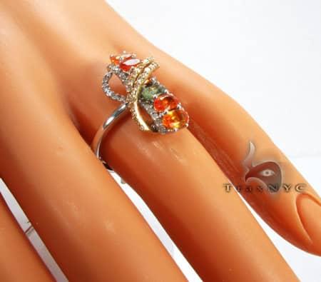 Citrine Ring Anniversary/Fashion