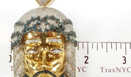 Corinthian Jesus Piece Pendant Style