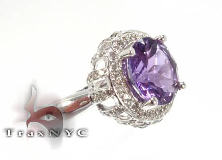 Wester Amethyst Ring Anniversary/Fashion