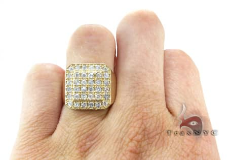 TraxNYC Light 14k Yellow Gold Ring Stone