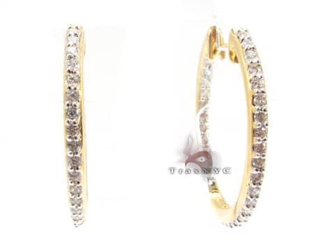 Fame Hoop Earrings Style
