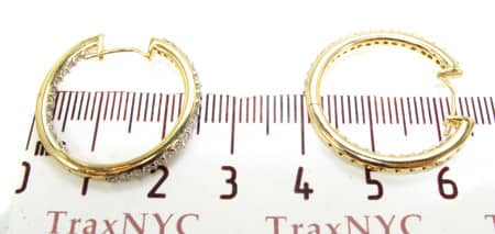Fame Hoop Earrings Style