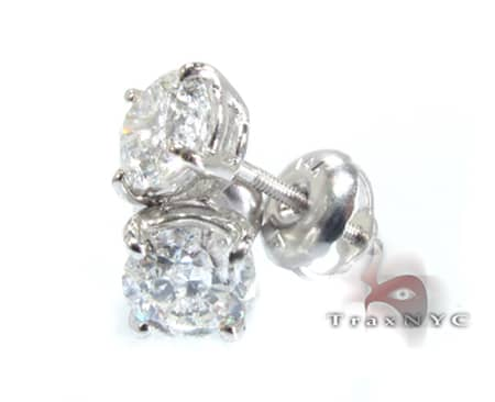 diamond studs for men. Custom Jewelry - Classic Studs