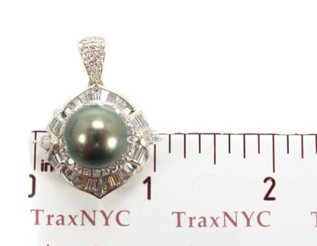 Green Pearl Focal Pendant Stone