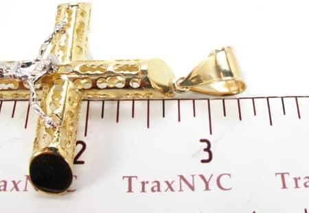 Gold Cross Pendant 3 Gold