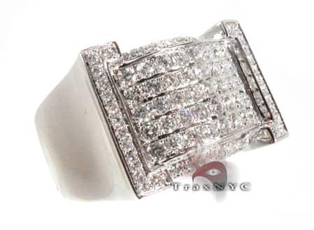 Brackets Ring Mens Diamond Rings
