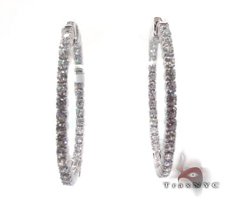 Sterling Silver Hoop Earrings 2 Metal