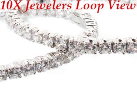 Sterling Silver Hoop Earrings 9 Metal