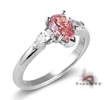 pink princess ring color ring white