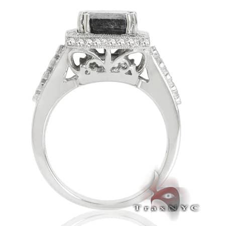 Ladies Ebony Crown Ring Anniversary/Fashion