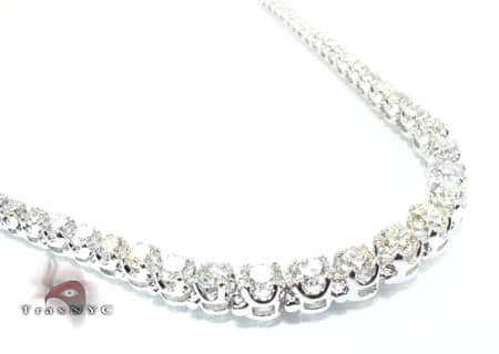 Ladies Brilliance Necklace Diamond