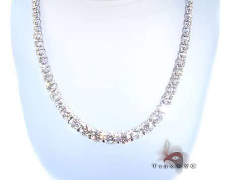 Ladies Brilliance Necklace Diamond