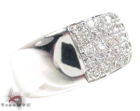 Pave Sage Ring Stone
