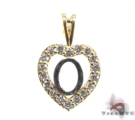 Golden O Pendant Metal