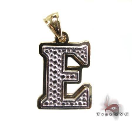 Initial E Pentant Metal