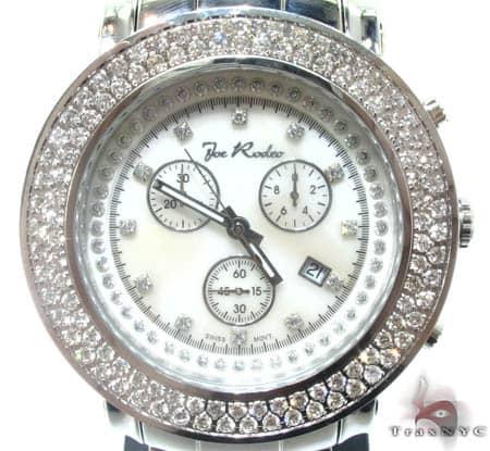 White 2 Row Junior Bezel Watch Accessories