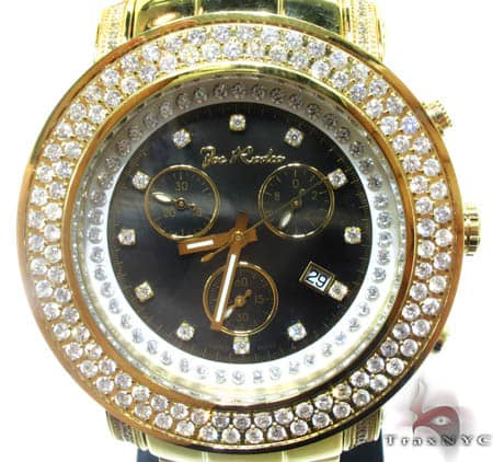 Yellow 2 Row Junior Bezel Watch Accessories