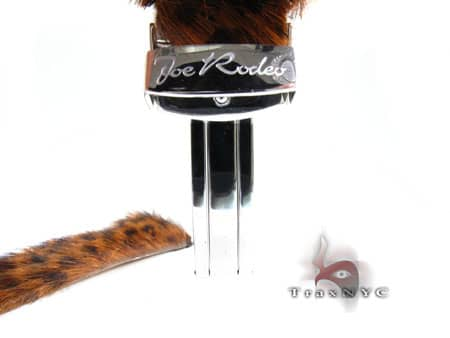 Joe Rodeo Leopard Leather Band 24mm Watch Accessories