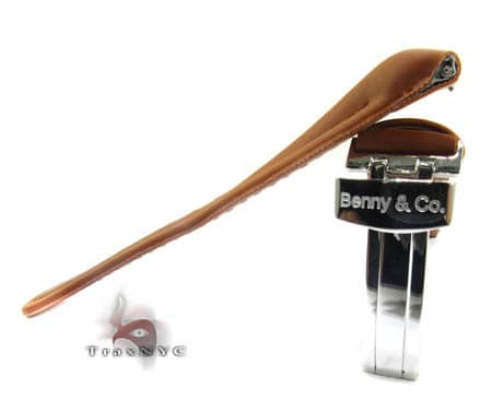Benny & Co Ladies Brown Polyurethane  Band Watch Accessories