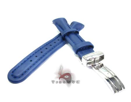 Benny & Co Ladies Navy Blue Polyurethane  Band Watch Accessories