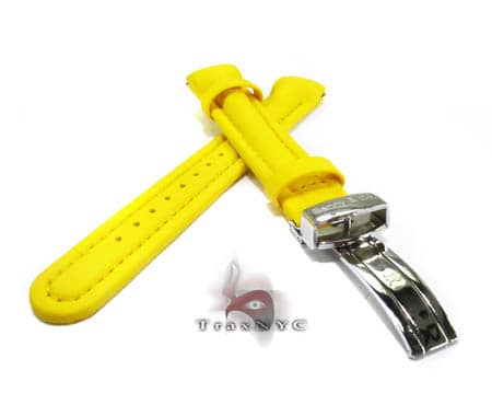 Benny & Co Ladies Yellow Polyurethane  Band Watch Accessories