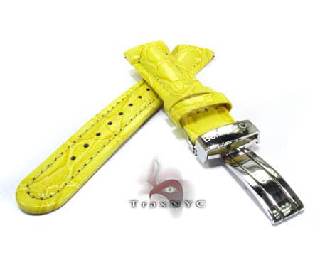 Benny & Co Men's Yellow Leather Band Watch Accessories