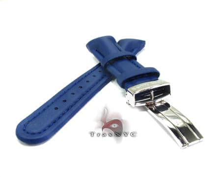 Benny & Co Men's Navy Blue Polyurethane Band Watch Accessories