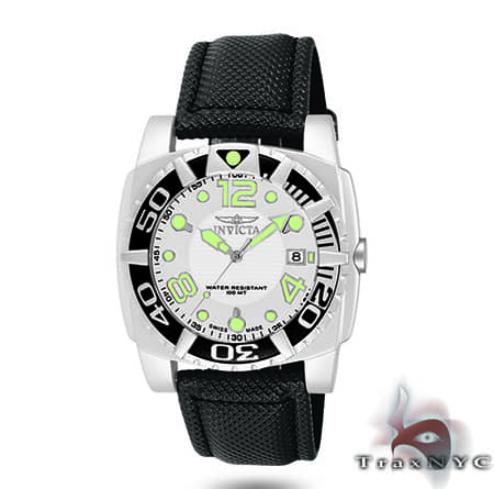 Pro Diver Aluminum QTZ Black Mesh White Dial On Sale