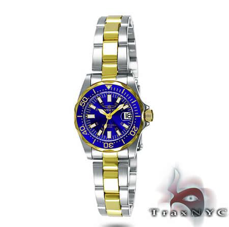Pro Diver Sapphire QTZ TT SS Blue Dial Invicta Watches