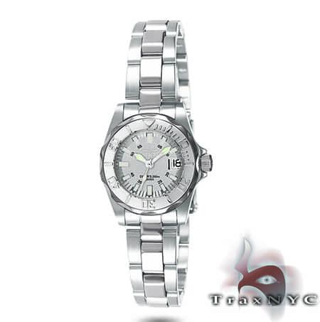 Pro Diver Sapphire QTZ  SS Silver Dial Invicta Watches