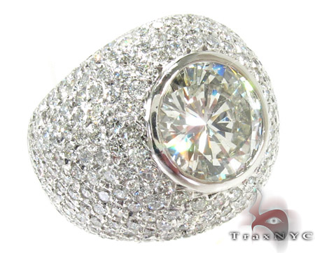 Alpha Ring Mens Jewelry Ring White Platinum