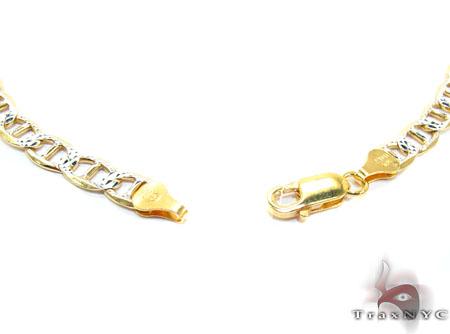 Anchor Diamond Cut 26 Inches, 6mm, 25.4 Grams Silver
