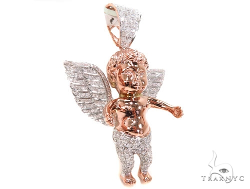 Angel Diamond Pendant 40454 Metal