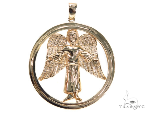 Angel Diamond Pendant 42327 Metal