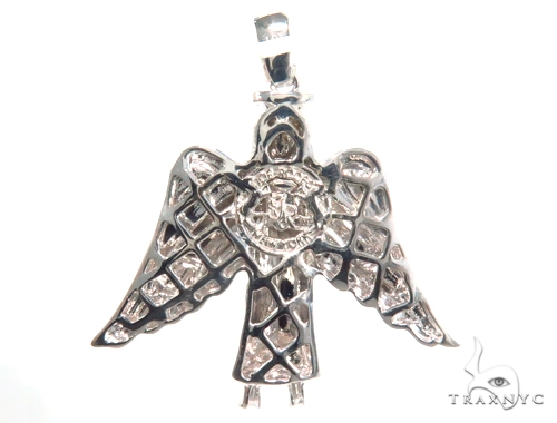 Angel Diamond Pendant 45109 Metal