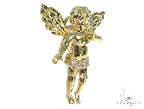 Angel Diamond Pendant 49168 Metal