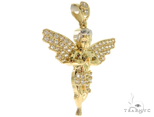 Angel Gold Pendant 49608 Style