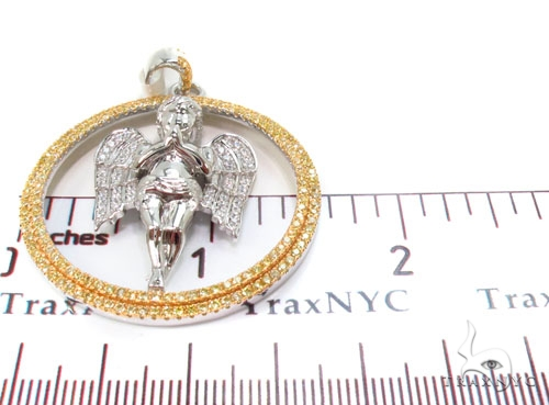 Angel Silver Pendant 36587 Metal