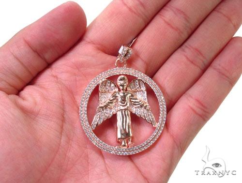 Angel Silver Pendant 36590 Metal