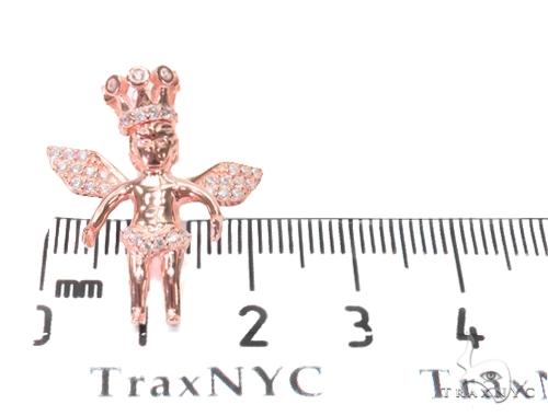 Angel Silver Pendant 44636 Metal