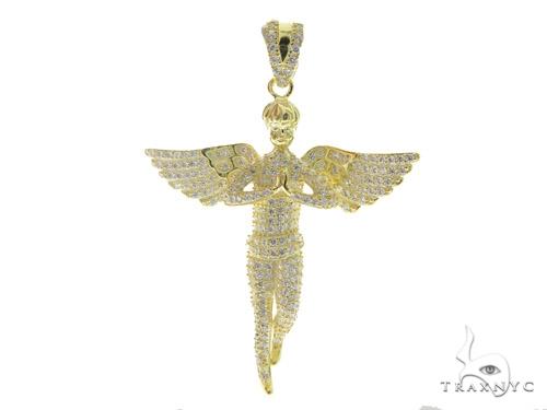 Angel Silver Pendant 56440 Metal