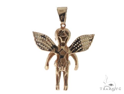 Angel Silver Pendant 56445 Metal