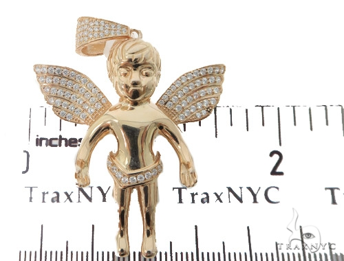 Angel Silver Pendant 56445 Metal