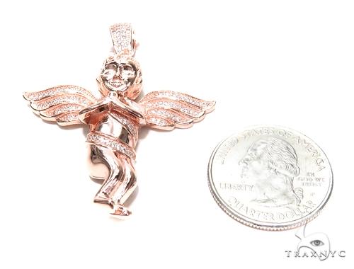 Angel Sterling Silver Pendant 42890 Metal