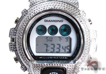 Aqua Master Diamond Shock Watch White Aqua Master