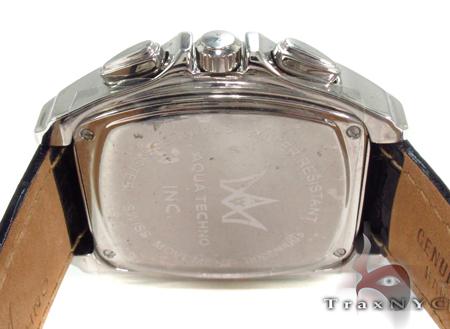 Aqua Techno Diamond with Black Leather Watch Aqua Techno
