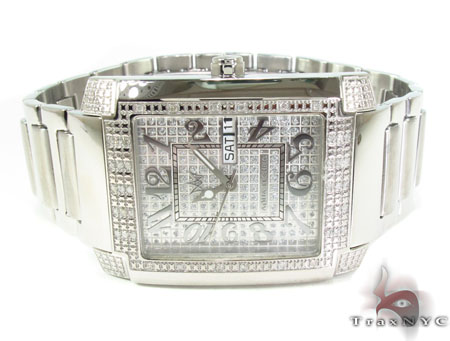 Aqua Techno Diamond & Steel Watch Aqua Techno